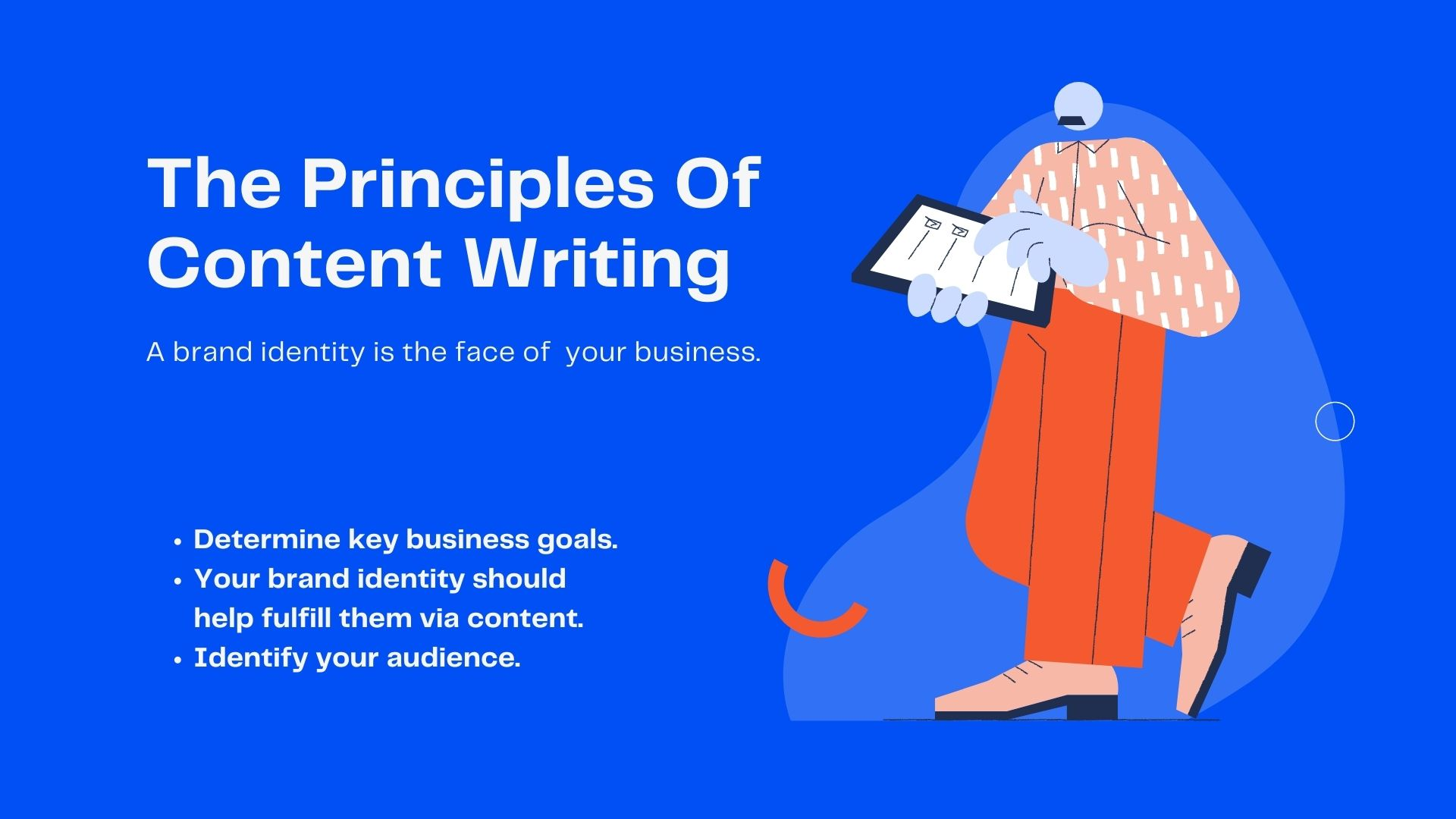Principles of Content Writing
