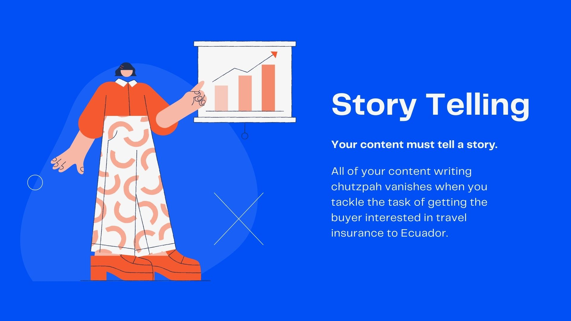 Tell a story with your content