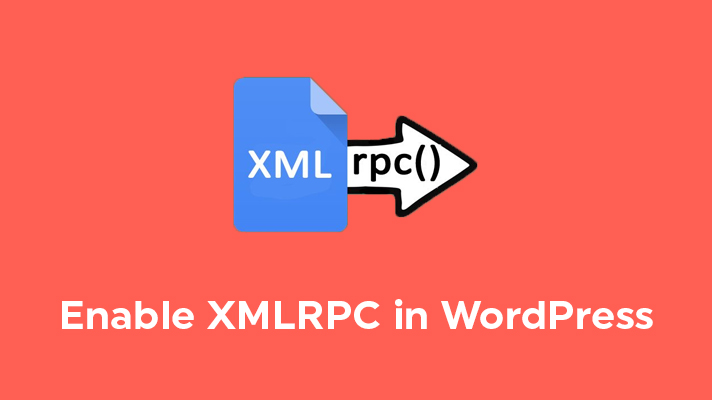 Enable XMLRPC in WordPress