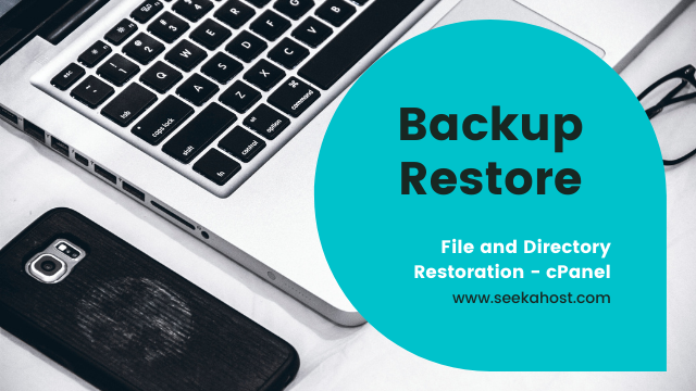 File and directory restoration