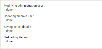 Password changed successfully for your site