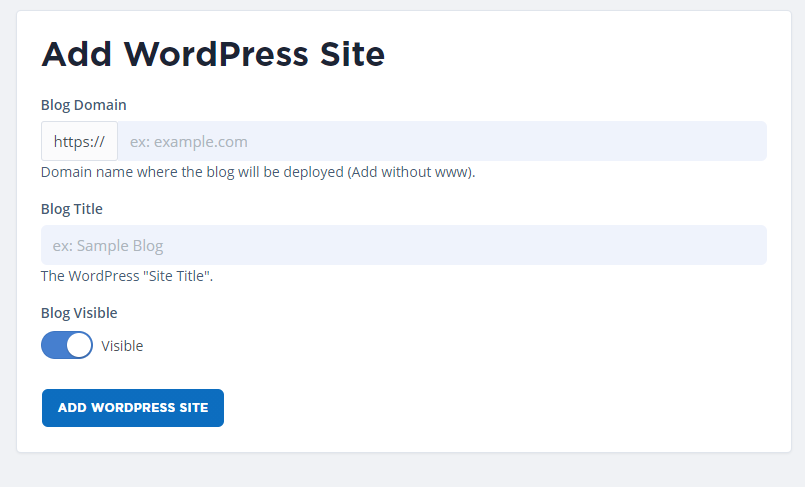 install-wordpress-site-and-host-it