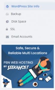 Domain Hosting Control Panel