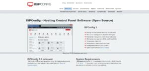 ISP Config Hosting Control Panel Software