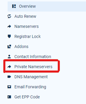 change-private-name-servers