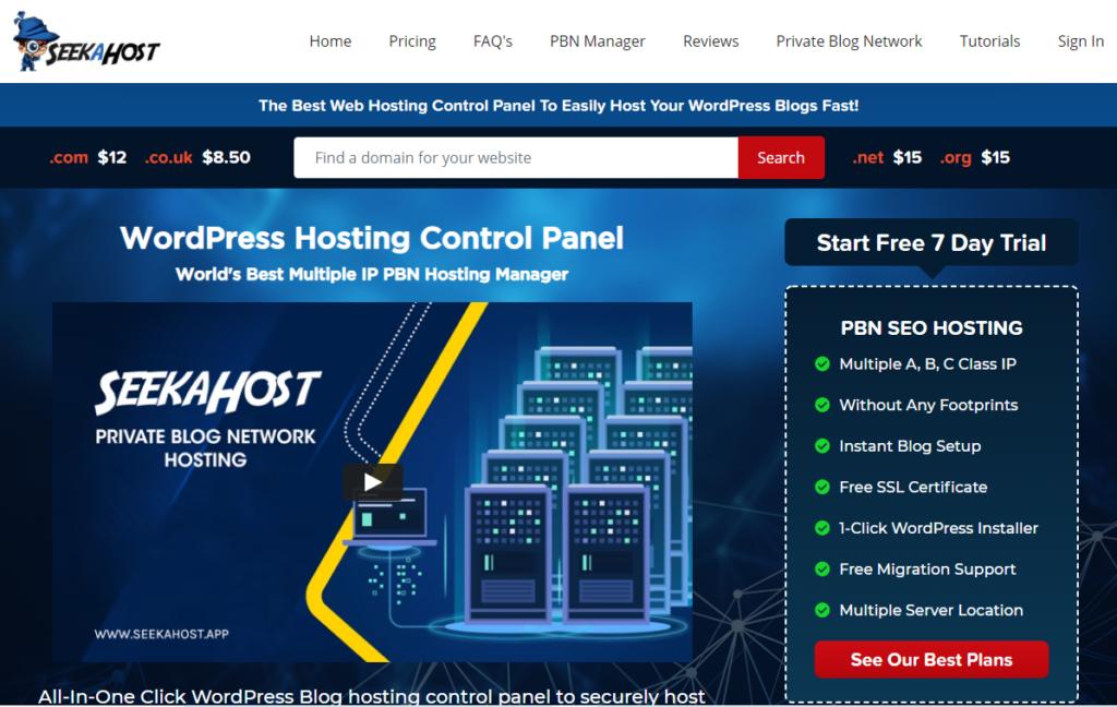 personal-Blog-hosting-control-panel