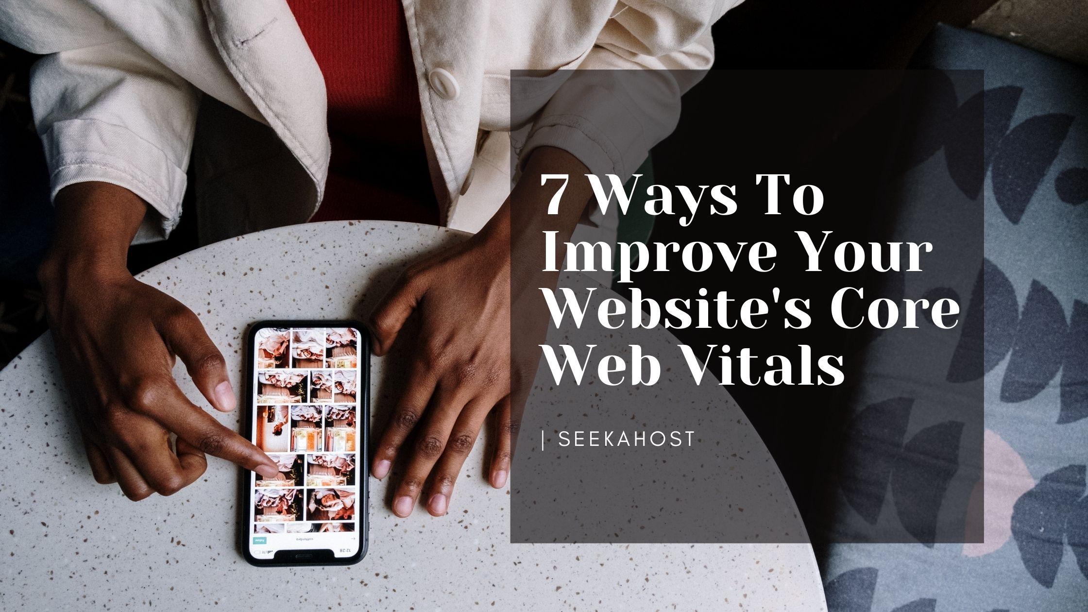 Improve Core Web Vitals