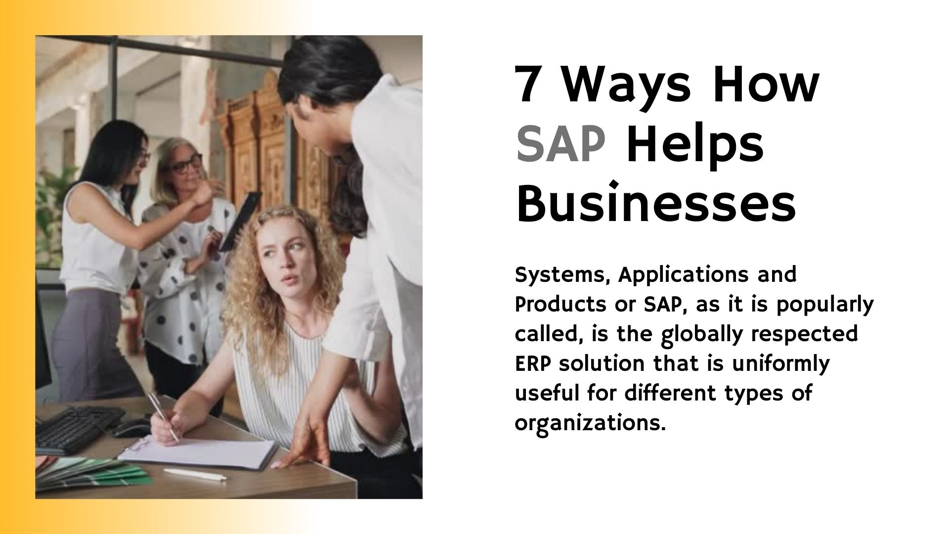 sap for business