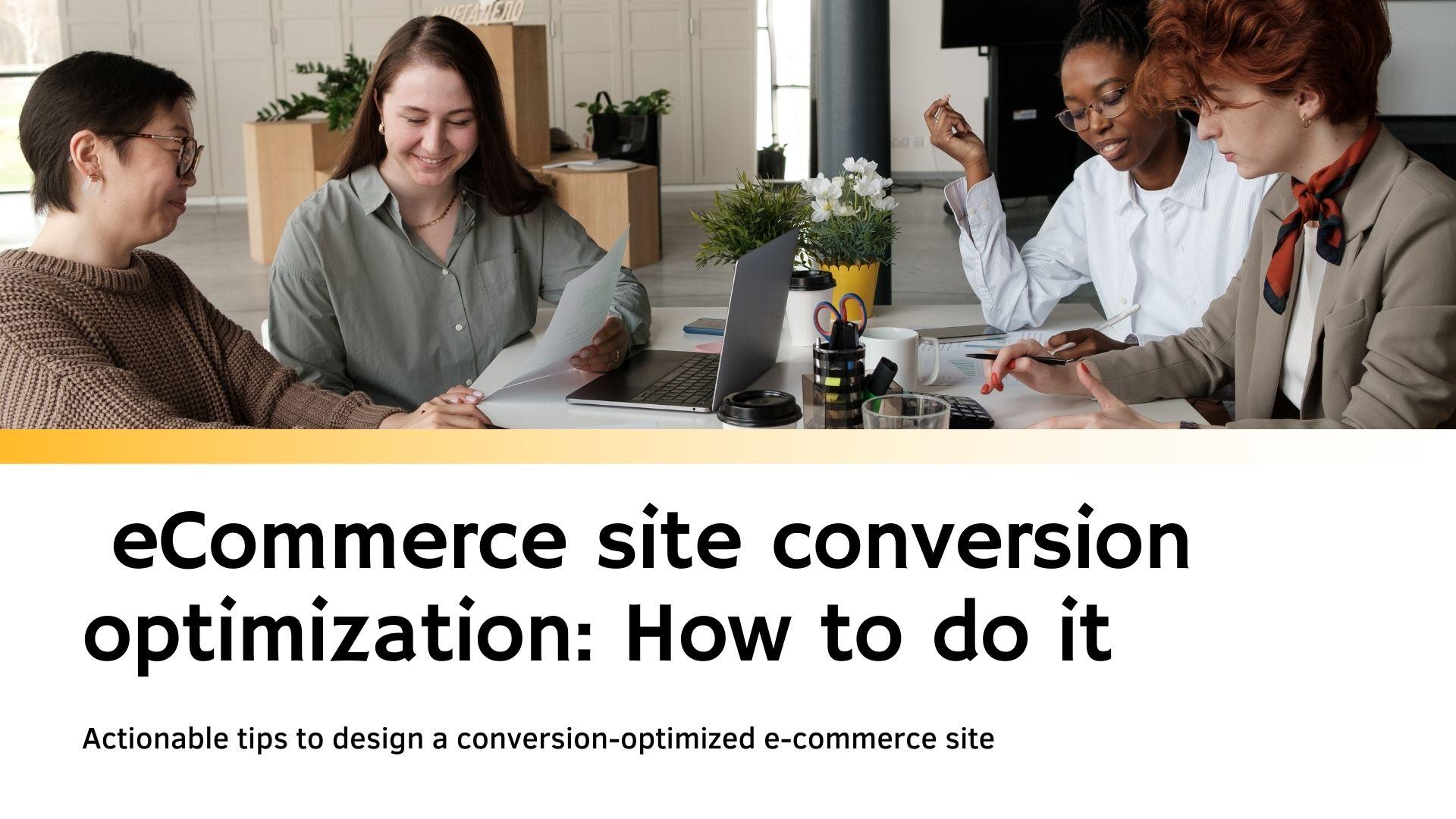 eCommerce-site-conversion-optimization