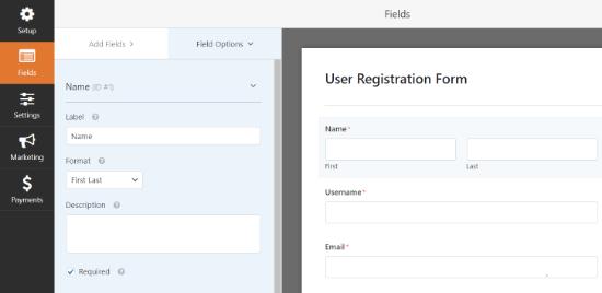 Basic WPForm Details