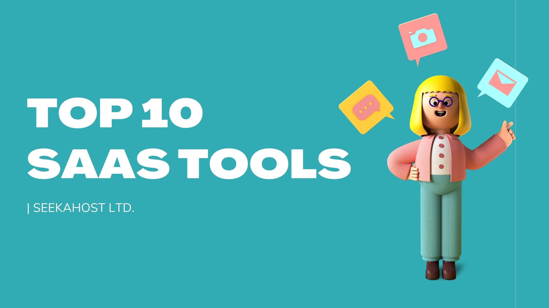 Top 10 Saas Tools For Business