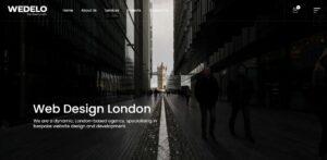 Wedelo Website Design